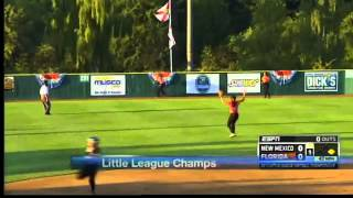 NM softball little league win world series
