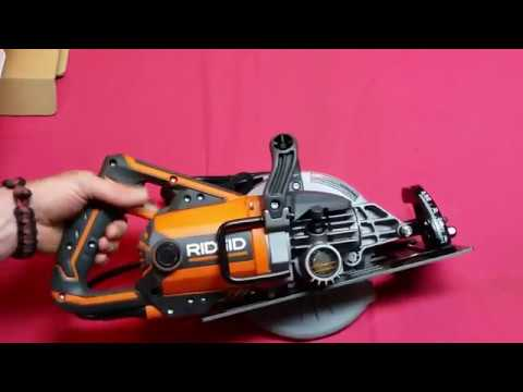 "Ridgid 7 1/4"" Worm Drive Saw Review"