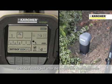 Kärcher Bewässerungsautomaten SensoTimer ST6 eco!ogic
