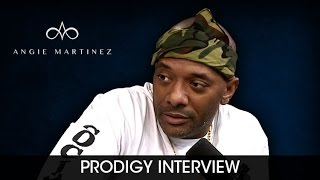 Prodigy Shows Angie Martinez How To Chef Up Prison Chow