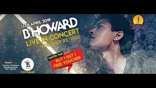 B.Howard's Live performance at Port grand Karachi Pakistan