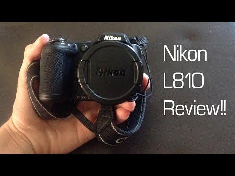 Nikon Coolpix L810 - Full Review!!