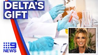 Delta Goodrem gives back to doctors and nurses | 9 News Australia