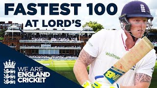 Stokes Hits Fastest Century At Lord's v New Zealand 2015 - Full Highlights