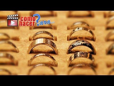 Cómo Pulir Anillos de oro o Plata y realzar su brillo - Truco Casero
