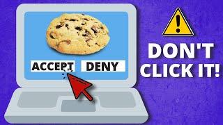 "NEVER ""Accept Cookies"" on websites!"