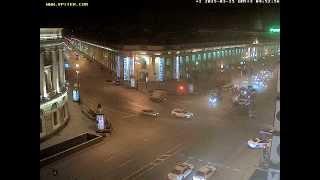 Смотреть онлайн Крупная авария в Санкт-Петербурге, 15 марта 2015 года