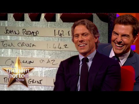 John Bishop závodil s Tomem Cruisem v Top Gearu - The Graham Norton Show