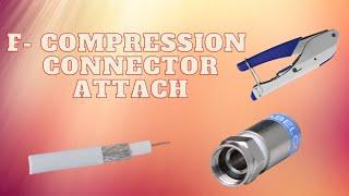 F - Kompressionsstecker Montage