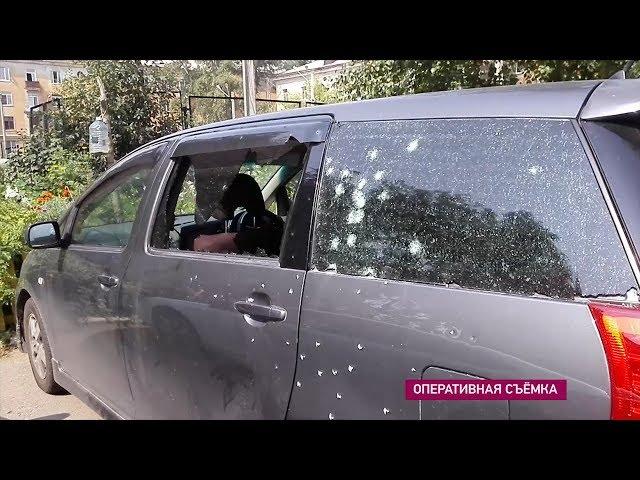 Ангарчанин открыл стрельбу по машинам