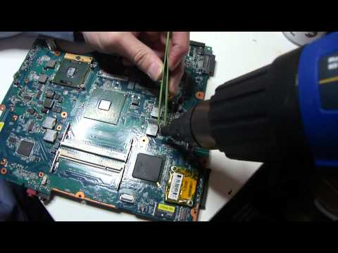 How to repair laptop motherboards