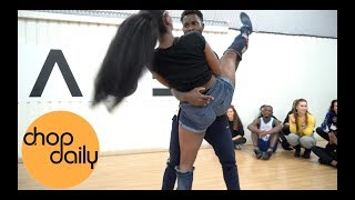 Maleek Berry   Doing U (Afro In Heels Dance Video) | Patience J Choreography | Chop Daily
