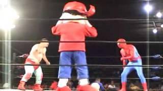 Turkey y El Que Araña (Show de Raul Brindis y Pepito)