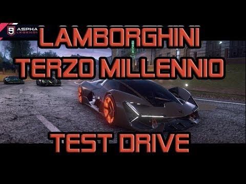 Lamborghini Terzo Millennio Test Drive
