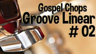 Aprenda um groove linear 02 - Gospel Chops na bateria
