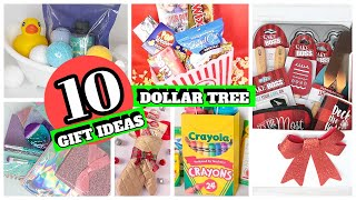 10 UNIQUE DOLLAR TREE GIFT IDEAS