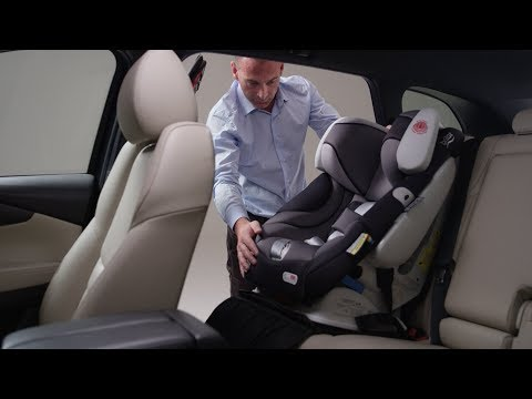 Install Baby Seat with ISO-FIX