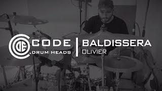 Code Drumheads Blast sablée grosse caisse 22