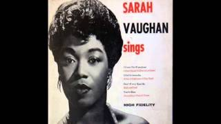 Sarah Vaughan - I Cover The Waterfront (1946) -78rpm