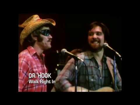 Dr Hook - Walk Right In - 1977 Official Video