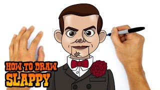 How to Draw Slappy   Goosebumps