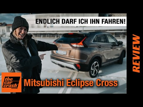 Mitsubishi Eclipse Cross (2021) ENDLICH darf ich den Plug-in Hybrid fahren! 🔌 Fahrbericht | Review