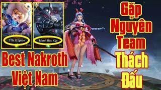 [Gcaothu] Gặp ngay team thách đấu khủng - Đau tim khi bị best Nakroth hành SML
