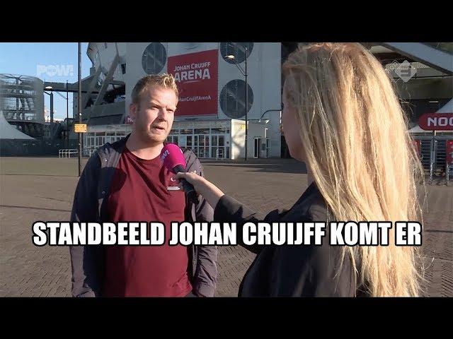 Standbeeld Johan Cruijff komt er