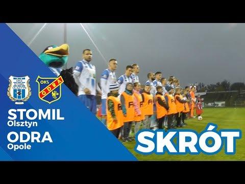 Skrót meczu Stomil Olsztyn - Odra Opole