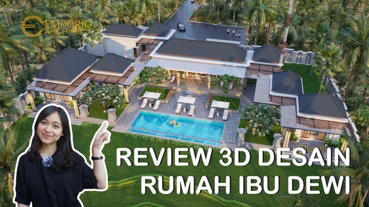 Video 3D Desain Rumah Scandinavian 1 Lantai Ibu Dewi dan Bapak Mike di Singaraja, Buleleng, Bali