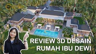 Video Desain Rumah Scandinavian 1 Lantai Ibu Dewi dan Bapak Mike di  Singaraja, Buleleng, Bali