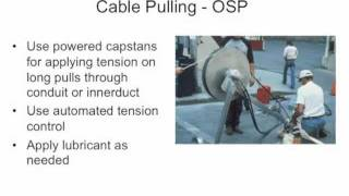 FOA Lecture 8: Fiber Optic Installation