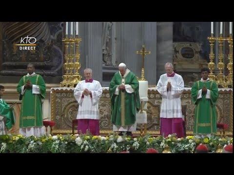 Messe d'ouverture du Synode pour l'Amazonie