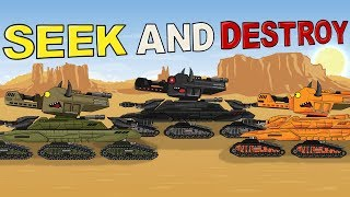 """Seek and Destroy"" Cartoons about tanks"