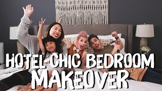 Hotel Chic Neutral Bedroom Makeover! | Breaking Beige | Mr. Kate