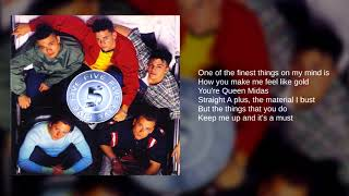Five: 05. It's The Things You Do (UK Album Version) (Lyrics)