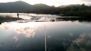 Рыбалка  Река Курба  Заиграевский район