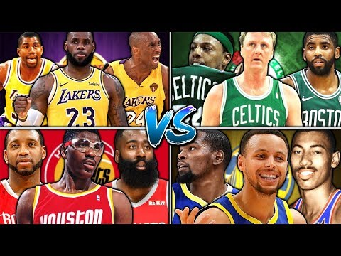 WHICH TEAM HAS THE GREATEST NBA ALL TIME TEAM? NBA 2K19 Mp3