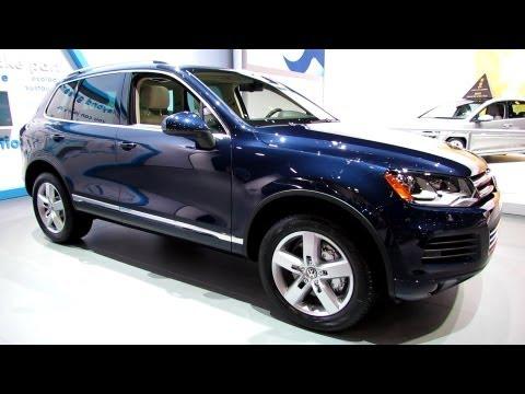 2013 Volkswagen Touareg Hybrid - Exterior and Interior Walkaround - 2013 New York Auto Show