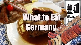 German Food & What You Should Eat in Germany