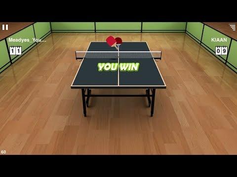 Defeated KIAAN 11-9 - Virtual Table Tennis online