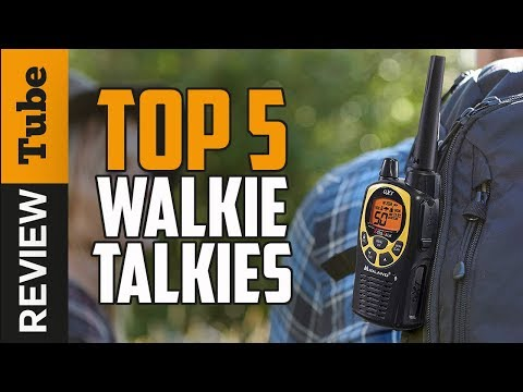 ✅Walkie Talkie: Best Walkie Talkie 2018 (Buying Guide)