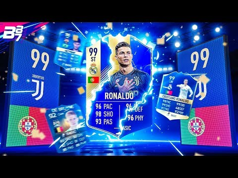 MY BEST EVER TEAM OF THE SEASON PACKS IN FIFA!