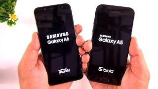 Samsung Galaxy A6 vs Galaxy A5 (2017) Camera / Speed Test  [Urdu/Hindi]