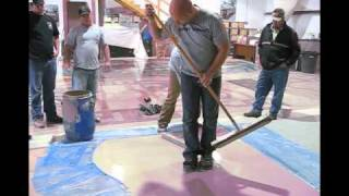 Polished Concrete and Overlay Class  Extreme polishing - Video Youtube