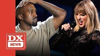 """Did Taylor Swift Shade Kanye West On Her """"Reputation"""" Album Cover"""