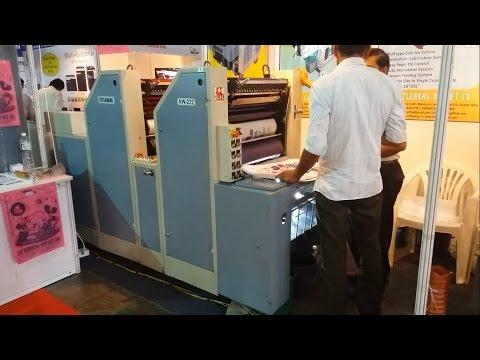 Prakash NW-222 2 Color Non Woven Bag Printing Machine