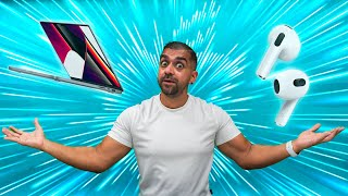 Apple LISTENED? Game OVER Intel! M1 Pro, M1 Max, AirPods And MacBook Pro 2021