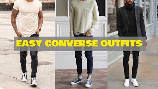 6 Minimal Converse Outfits   Converse Outfit Ideas