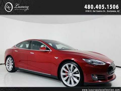 Pre-Owned 2016 Tesla Model S P90D AWD Performance